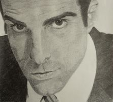 Zachary Quinto by clamia