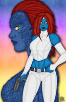 Mystique by Blackmoonrose13