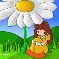 Daisy under a Daisy by SugarJem
