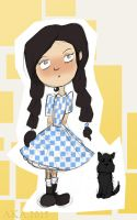 Dorothy and Toto by alice-time