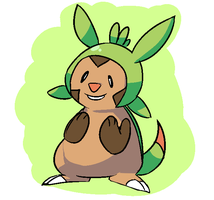Chespin by MareckiRAWR