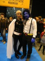 MCM Telford 2014 - Storm and Beast by MJ-Cosplay