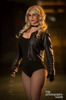 Black  Canary by ShatteredStitch