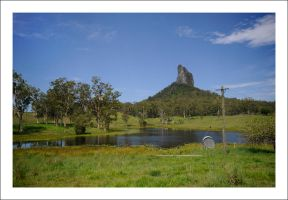 Glasshouse Mountains Property by Cameron-Jung