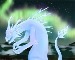 ice dragon by my-darkness