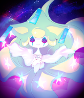 Jirachi by jaslikeschocolate
