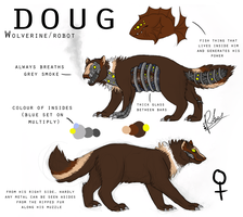 Doug the robot wolverine by RuckusRufus