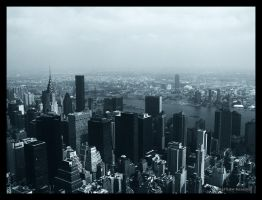 New York from Above. by Bleezer