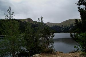 serial-lake in the mountains of Colorado 3 by sonafoitova
