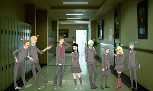 SATW Waiting In the Hall by ABtheButterfly