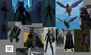 CoH Toon Collage 14 by Jaguard