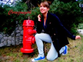 Converse Hydrant by corazongirl