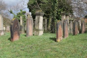 Jewish Cemetery Stock 23 by Malleni-Stock