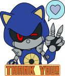 Metal Sonic Thank You by tentenswift