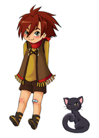 Harvest Moon Collab Roy by SisterBelldandy