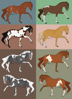 Horse point adoptables - ALL TAKEN by Trollberserker