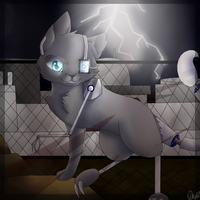 Robot cat + Speedpaint by Skystar-Warrior