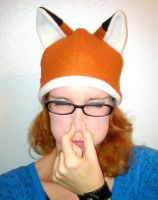 Foxy fox hat by papersouls