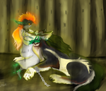 Midna and Link - Lullabye by KingGhidorah2007