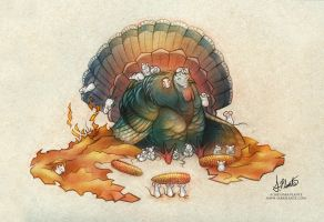 Happy Thanksgiving! by SaraPlante
