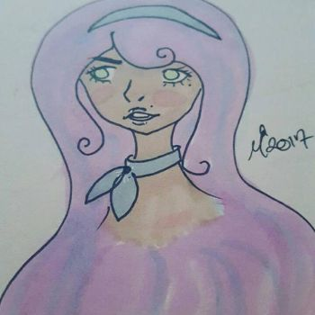 Trying out markers by Mermaid--Queen
