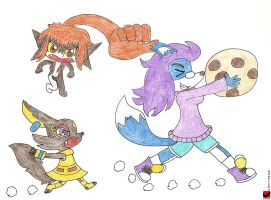 The Great Cookie Chase by eshonen