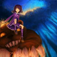 Annie and Tibbers by Houndourka