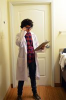 Carlos the Scientist by NabCosplay