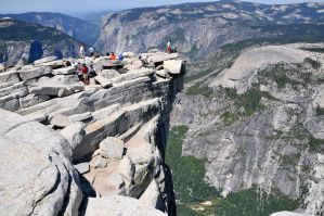 View from the Top of Half-Dome by AndySerrano