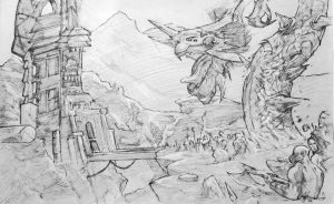 Xuan Yuan sketch by Bardsville