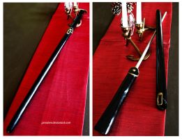 Pandora Hearts: Cane Sword by gerodere