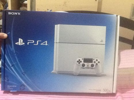 My PS4!!!! by Caramel-lioness