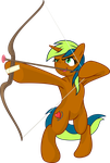 Kalu Booli the Arching Mare by SkittlesThePony1