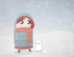 Winter Girl by CatherineSatrun