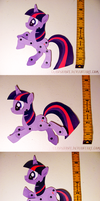 Twilight Sparkle Puppet Pal Poses by Clawshawt