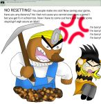 Ask my OCs 37: Wrath of Resetti by kingofthedededes73