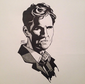 Rust Cohle from True Detective by lateralshenanigans