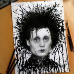 Edward Splatter drawing by AtomiccircuS