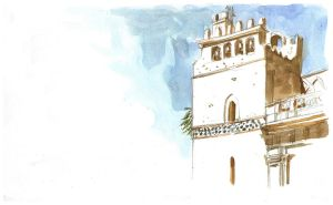 watercolour break (Monreale) by Entropician