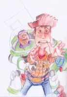 Buzz and Woody by Known-Prime