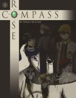 COMPASS ROSE Cover, Book 1 by Benzophenone-4