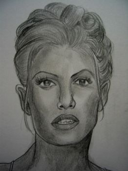 Trish Stratus by VinceArt