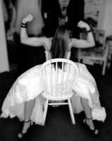 Muscle Bride by blakelemmons