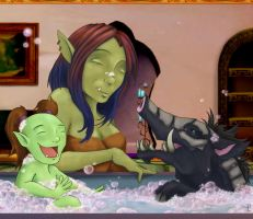 Bath Time by micer