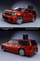 Chevrolet Suburban1 by adit1001