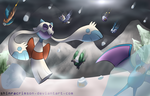 It's Hailing Mon, Hallelujah by ShinraCrimson