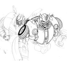 BumbleBee Cliffjumper Sketch by TheBoo
