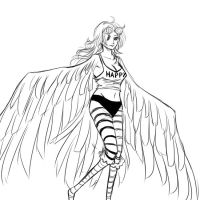 Monet the Harpy by RMSephy