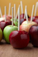 Apples on sticks by stephfowler