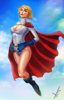 Power Girl by victter-le-fou